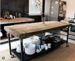 Mobile Kitchen Island Butcher Block Best 25 Mobile Kitchen Island Ideas On Pinterest Kitchen Island