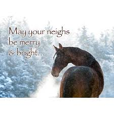 printable horse christmas cards holiday cards www hoofprints com