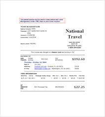 travel invoice templates u2013 14 free word excel pdf format