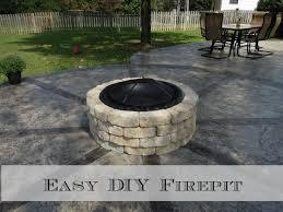 Diy Firepit How To Build A Firepit