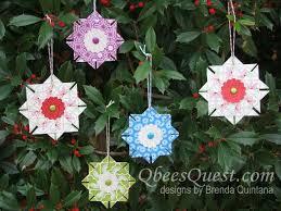 qbee s quest tea bag folded ornaments tutorial