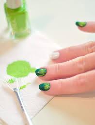nail art tutorial festive football season manicure love maegan