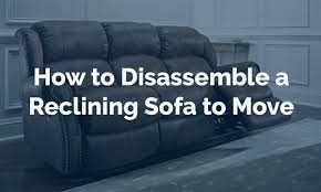 How To Disassemble Recliner Sofa How To Disassemble A Reclining Sofa To Move Expert Guide