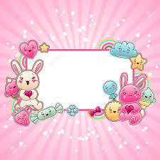 cute child background with kawaii doodles royalty free cliparts