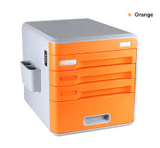 Home Office Desk With Storage by Lockable Desk Storage Drawers Desktop Organizer 4 Drawer Home