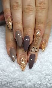 top 40 almond shape nails colors designs to try this fall jewe blog