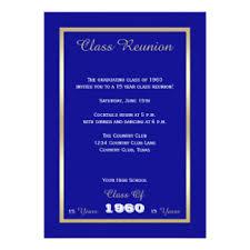 high school reunion invitations gold high school reunion invitations announcements zazzle
