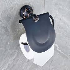 covered toilet paper holder bathroom remarkable oil rubbed bronze toilet paper holder for