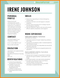 example of best resume format 10 best cv format 2017 reporter resume best cv format 2017 resume format for nurses example png