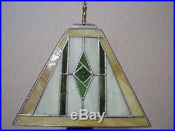 mission style table ls frank lloyd wright mission style stained glass table desk l one
