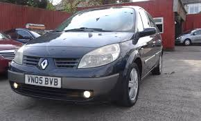 used renault megane scenic 2005 for sale motors co uk