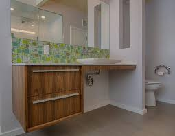 backsplash bathroom tile white ceramic glossy sitting flushing