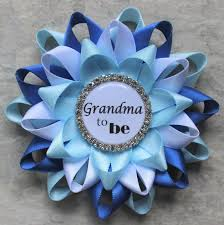 new grandma gift new mommy gift personalized baby shower corsage