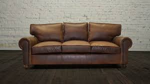 Couch Lengths by Cococohome Lexington Leather Sofa Made In Usa