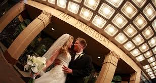 wedding venues in kansas president hotel wedding venue in kansas city