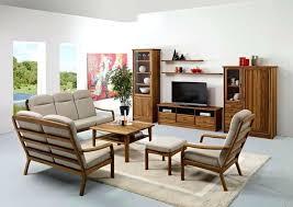 Wood Living Room Chair Teak Wood Living Room Furniture Teak Wood Sofa Set Design Living