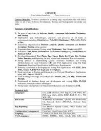 Qa Analyst Resume Sample Qa Resume Sle 28 Images Quality Resume In Pharmaceutical