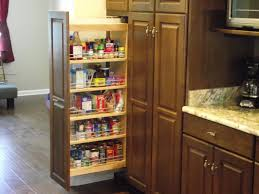 Solid Wood Kitchen Pantry Cabinet Contemporary Kitchen Design With Solid Wooden Pantry In Brown