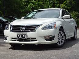 nissan white car altima 2014 used nissan altima 4dr sedan i4 2 5 s at alm roswell ga iid