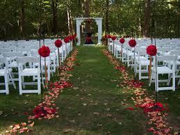 Wedding Ceremony Decoration Ideas Outdoor Wedding Aisle Decoration Ideas House Decorations And