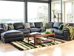 canape d angle en cuir noir le canapé d angle en cuir 60 idées d aménagement archzine fr