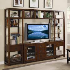 Slaters Furniture Modesto by Hooker Furniture Danforth Open Entertainment Wall Unit Ahfa