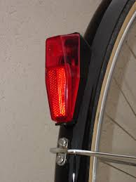 bicycle rear fender light led conversion for dynamo driven bike lights bertin classic cycles