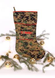 u s marine christmas stocking woodland by camosock