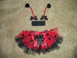 newborn ladybug tutu set photo prop costume