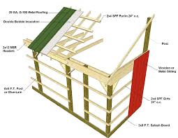How To Build A Pole Barn Shed Roof by Barn Framing Details Barn Framing Techniques