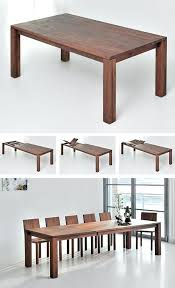 Ideas For Expanding Dining Tables Expandable Dining Table Best Expandable Dining Table Ideas On