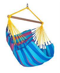 la siesta sonrisa weatherproof basic olefin chair hammock