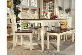 whitesburg dining room table ashley furniture homestore