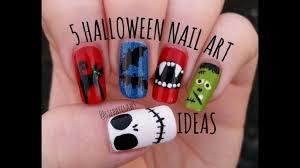easydoityourselfnailartdesignspicture 50 halloween nail art ideas