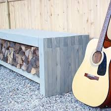 Outdoor Wood Storage Bench Plans by Best 25 White Outdoor Bench Ideas On Pinterest Outdoor Benches