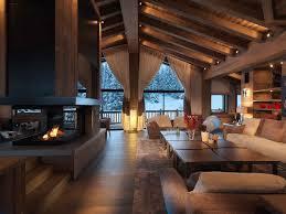 Interieur Maison Bois Design D U0027intérieur De Maison Moderne Chalet En Bois Ecologique