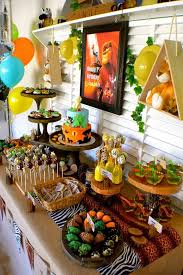 Kids Party Food Ideas Buffet by Best 25 Lion King Party Ideas On Pinterest Lion King Birthday