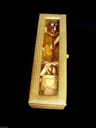 Rose Dipped In Gold Gold Dipped Real Rose 12 Inch 24k In A Gold Egyptian Casket With