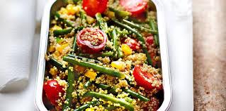 comment cuisiner le quinoa recettes quinoa aux petits légumes facile et pas cher recette sur