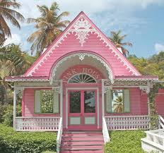 pink princess tiny cottage i love the porch with the arched