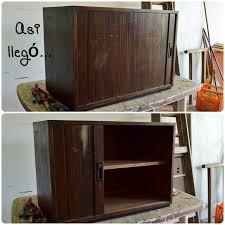 Antique Storage Cabinet From Antique Storage Cabinet To Modern Rolling Bar Hometalk