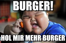 Meme Burger - burger asian fat kid meme on memegen