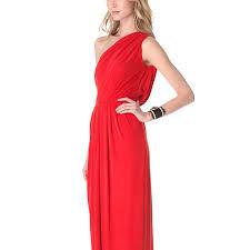 Long Draped Dress Long Draped One Shoulder Jersey Formal Gown Evening Dress Black