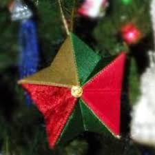 54 best fabric origami ornaments images on