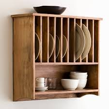 beautiful wall mounted plate racks for kitchens 124 wall mounted
