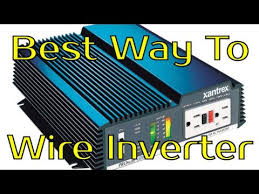 best way to wire inverter battery vs charge controller youtube