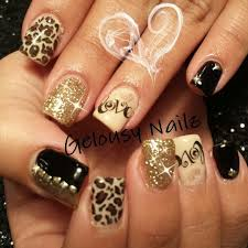 Nail Designs Cheetah Cheetah Nails 25 Trending Cheetah Nail Designs Ideas On