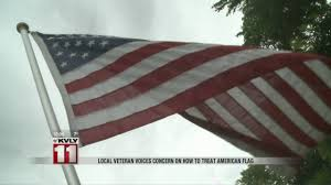 Flag Flying Etiquette Proper Way To Fly U S Flag At Night Youtube