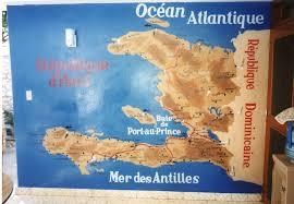 World Map Haiti by Thoughts Towards A Better World Haiti
