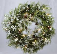 accessories large outdoor lighted wreaths outside